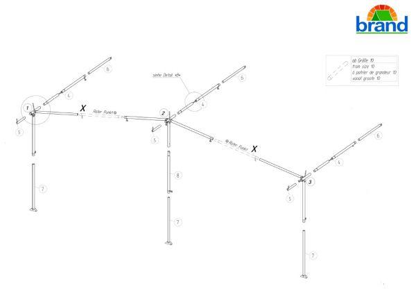 Mehrpreis Gestänge 28mm-Alu PowerGrip für Touring Premium