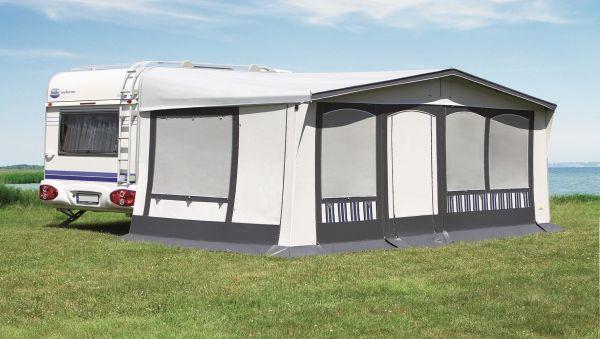 DWT Wohnwagen-Vorzelt Tango ✓ Alle Fensterklappen geschlossen