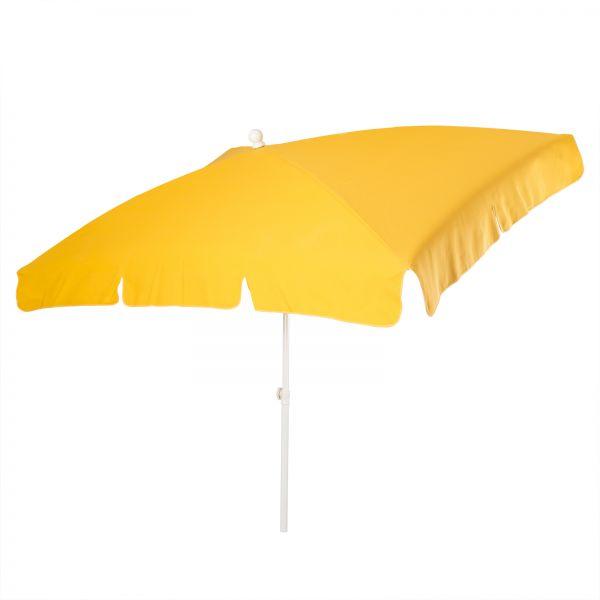 Stromeyer Sonnenschirm Malibu 265x150cmØ rechteckig gelb