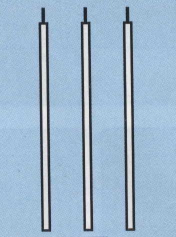 Stabgarnitur Aluminium