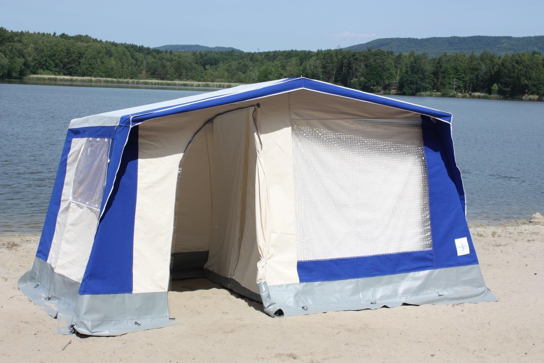 Stromeyer Steilwandzelt Korsika 380x300 für 4 Personen   OK