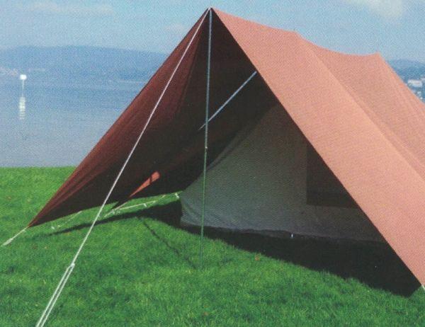 Vordach für Hauszelt Mosel von Tortuga