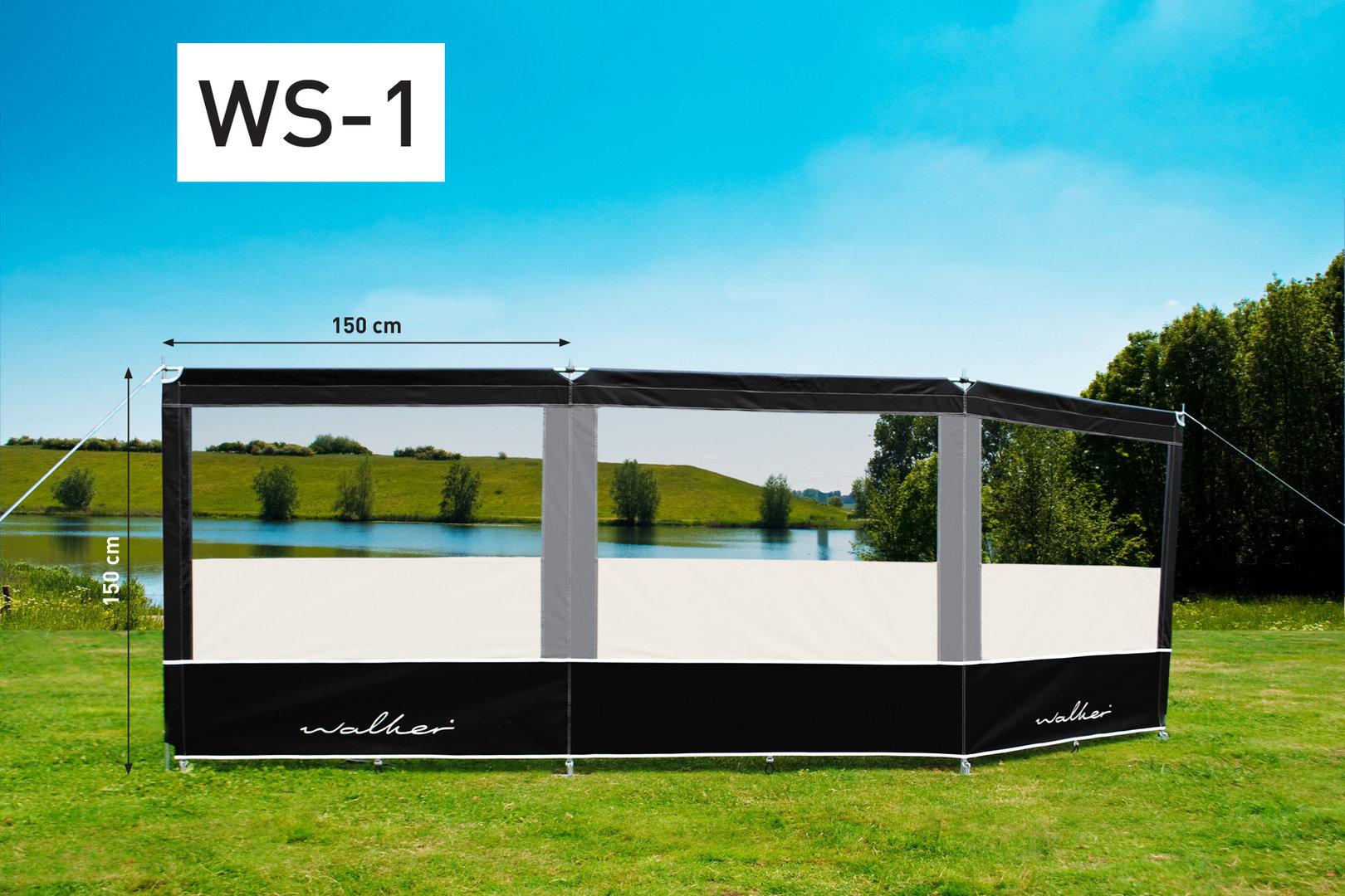windschutz 150 cm hoch von walker ok camping onlineversand. Black Bedroom Furniture Sets. Home Design Ideas