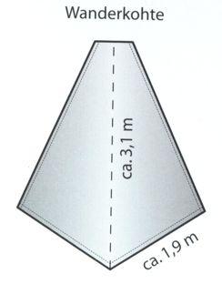 Wanderkohte / Wanderkohtenblatt