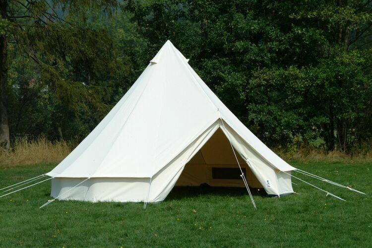 Gruppenzelt Tipi Zelt Sahara 400 Mannschaftszelt Zelte