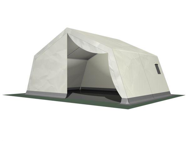 HTS TentIQ Mannschaftszelt P10 L x B 500 x 475 cm