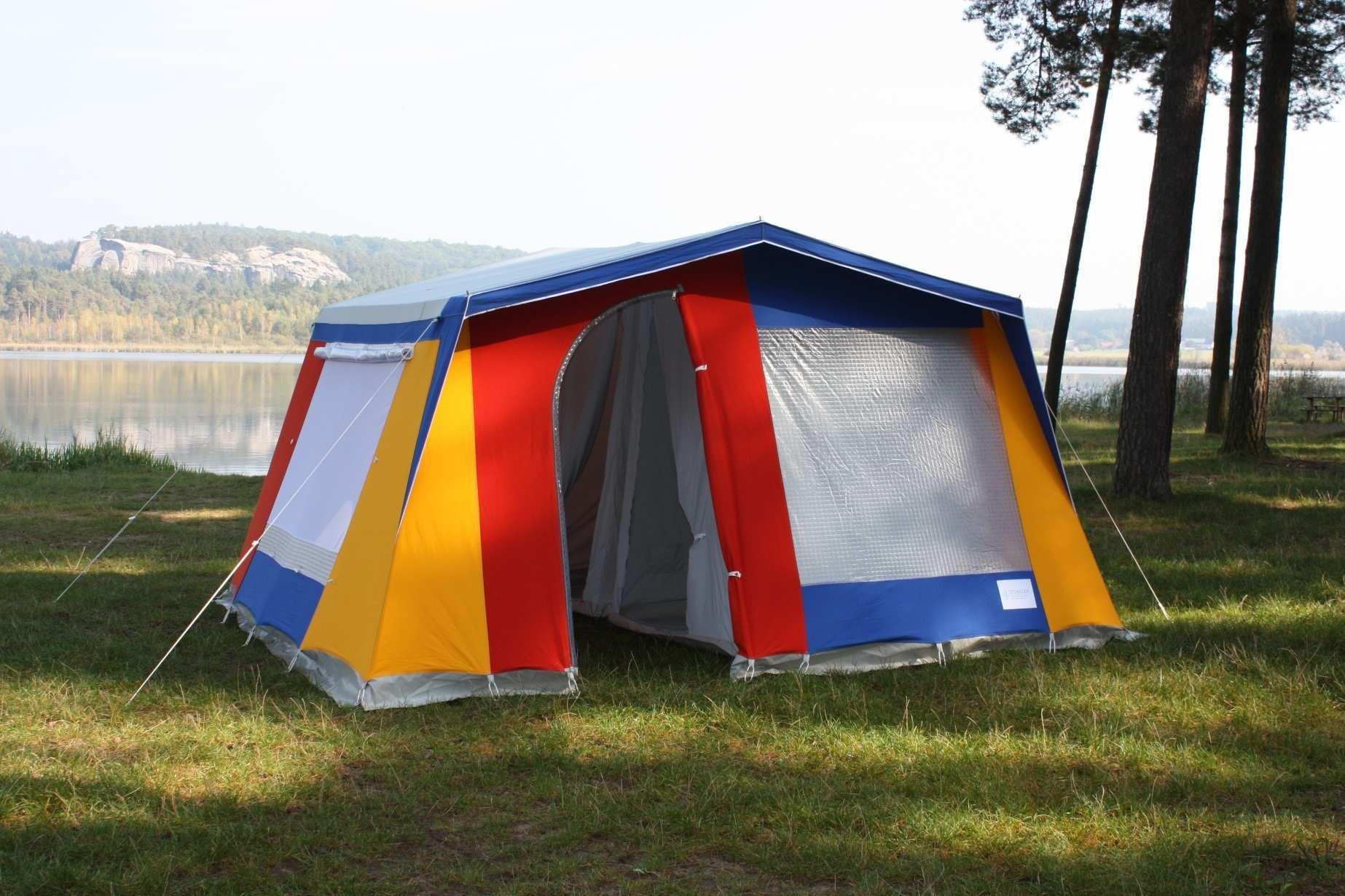 camping steil wand zelt
