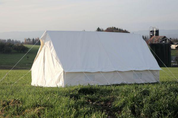 Hauszelt Thurgau aus Poly-/Cotton) Eingang geschlossen