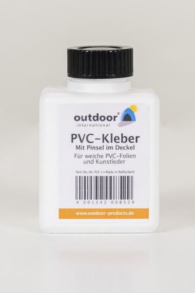 PVC-Kleber mit Pinsel im Deckel
