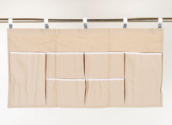 Organizer Baumwolle waagerecht 78x40cm Baumwolle natur