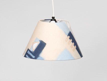 Lampenschirm im Walker Gardinen-Design