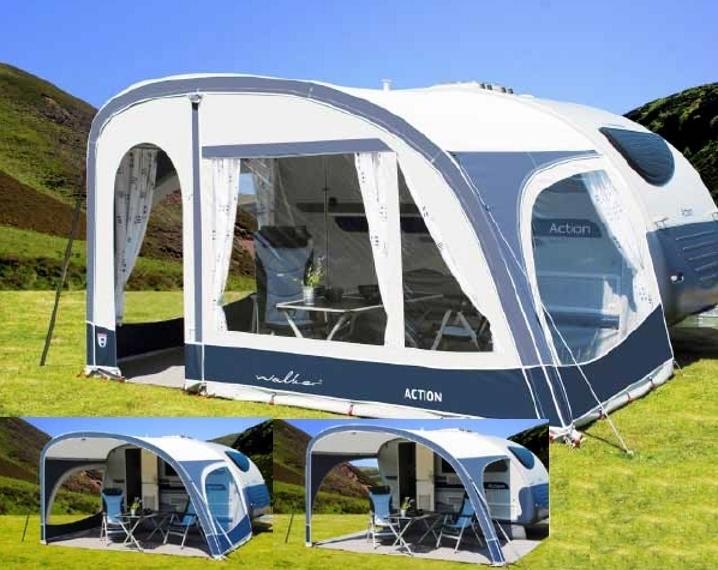 vorzelt action f r wohnwagen adria action ok camping. Black Bedroom Furniture Sets. Home Design Ideas