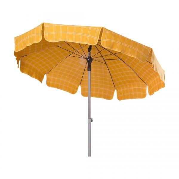 Stromeyer Sonnenschirm Monaco 250 cm Ø gelb