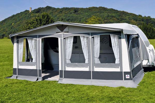Vorzelt Westerland von Hahn für Dauercamping geeignet