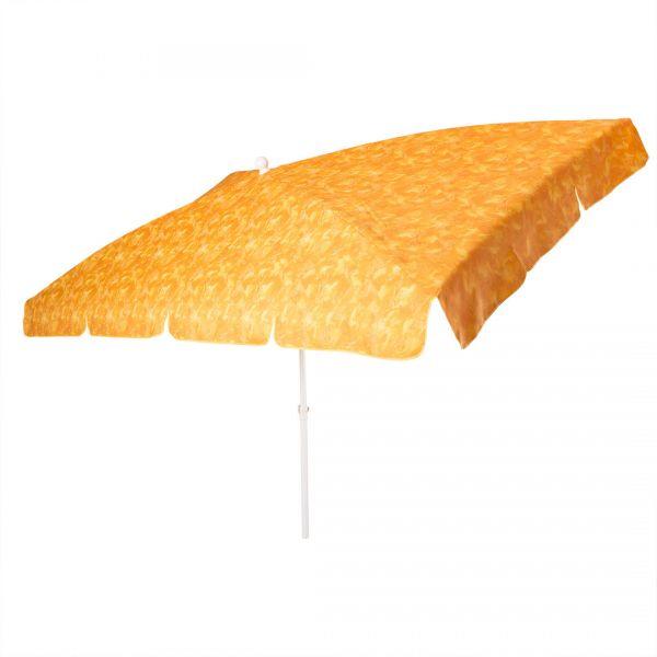 Sonnenschirm Siena rechteckig 265x150cm Farbe terra-cotta