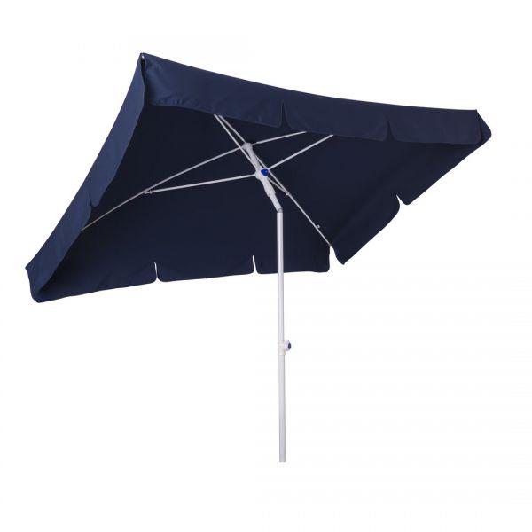 Stromeyer Sonnenschirm Mainau 185x125cm rechteckig dunkelblau