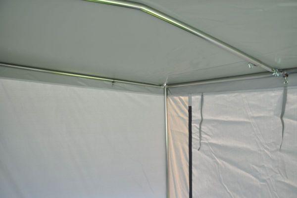Erker-Gestänge für Hahn-Zelte