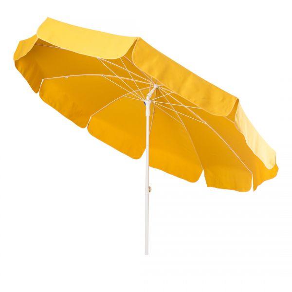 Stromeyer Sonnenschirm 250 cm Ø Polyacryl Farbe gelb