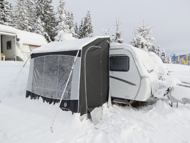 Wintervorzelt Snow&Fun Plus für Eriba Feeling