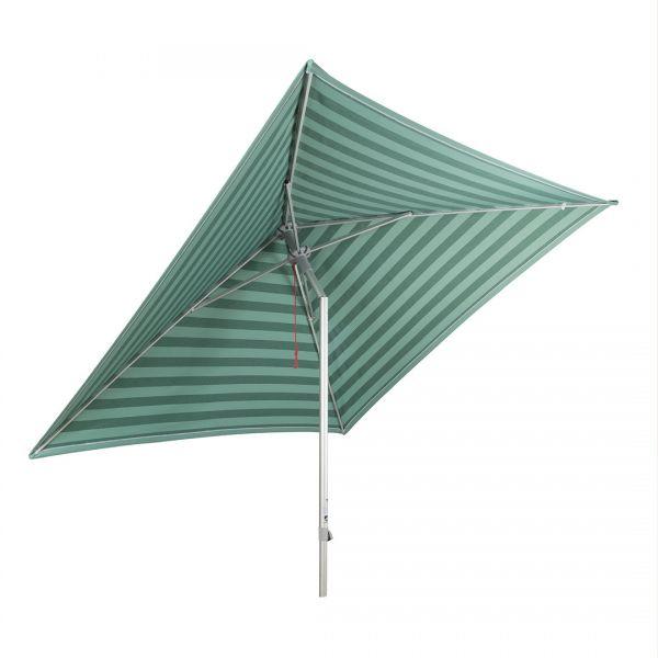 Stromeyer Sonnenschirm Easy-Line 250x250cm quadratisch hellgrün/dunkelgrün