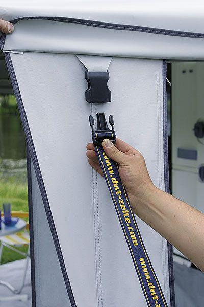 Sicherheitsgurt Plus XL für DWT-Vorzelte ✓ Klip und Stecker