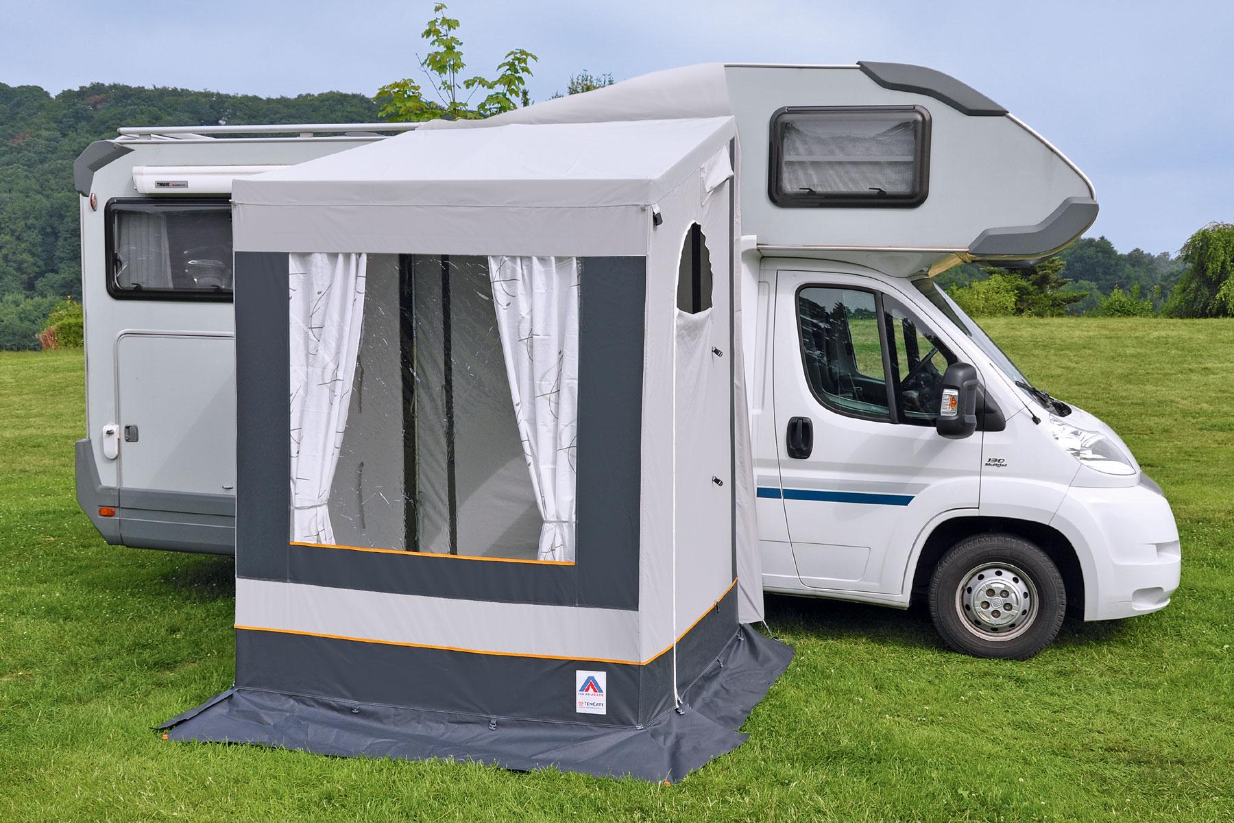 Wohnmobil-Vorzelt 8x8cm freistehend